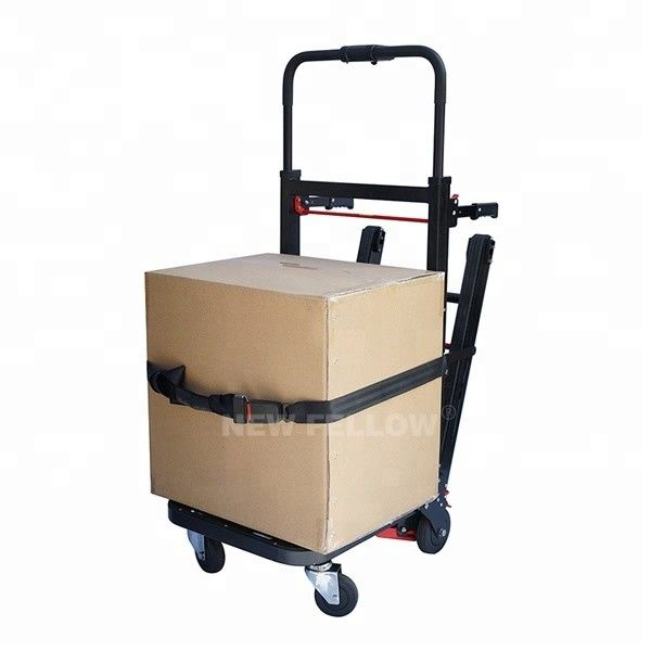 Portable Powered Stair Climbing Hand Truck Machine Heavy Duty Load Carrying Capacity